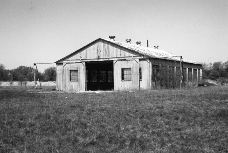 Hangar Before